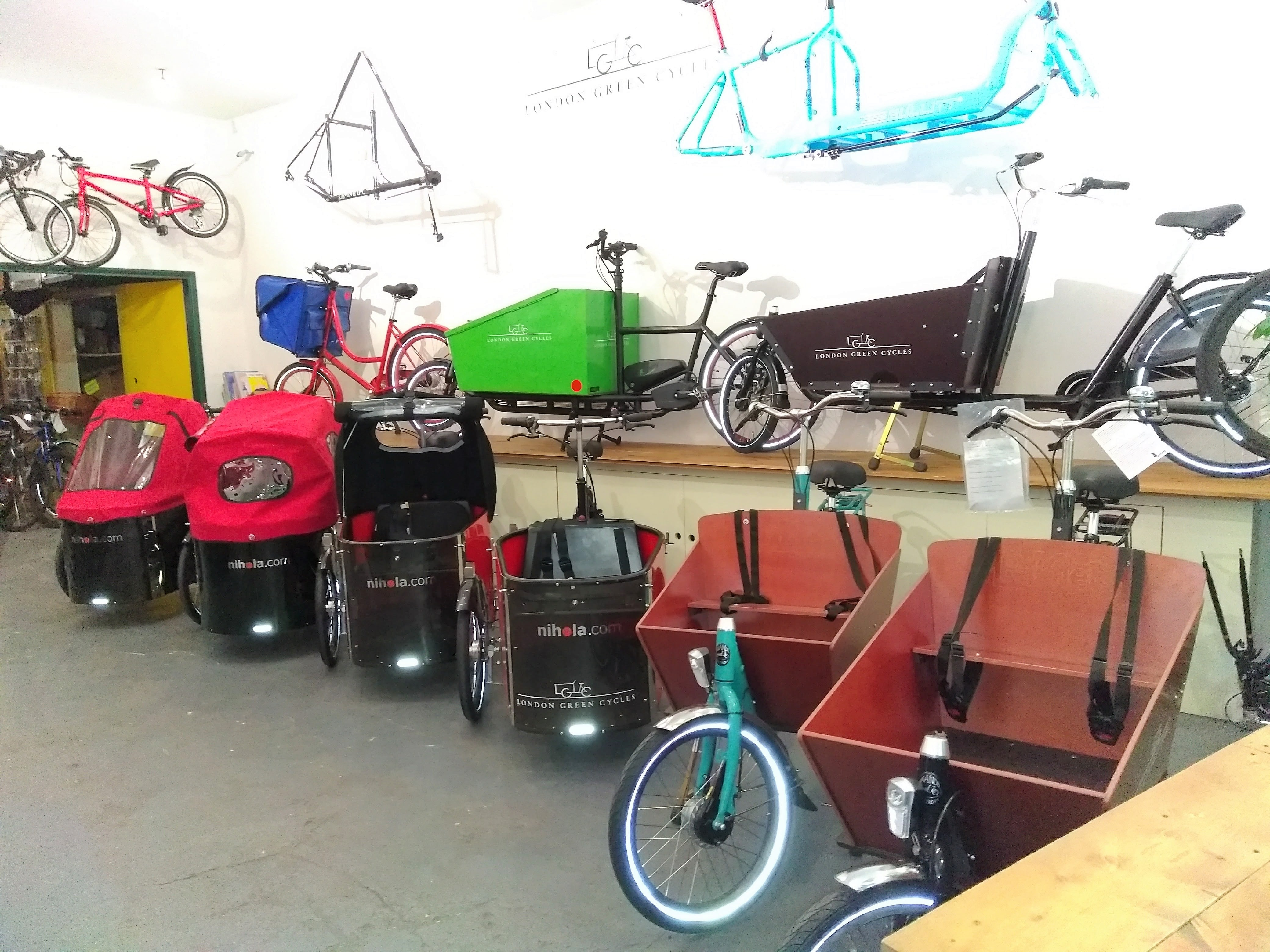 Showroom | London Green Cycles