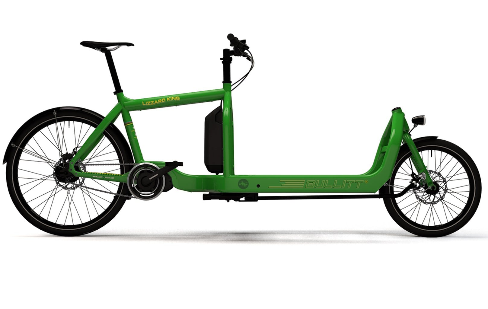 Bullitt Cargo bikes by Harry vs. Larry at London Green Cycles