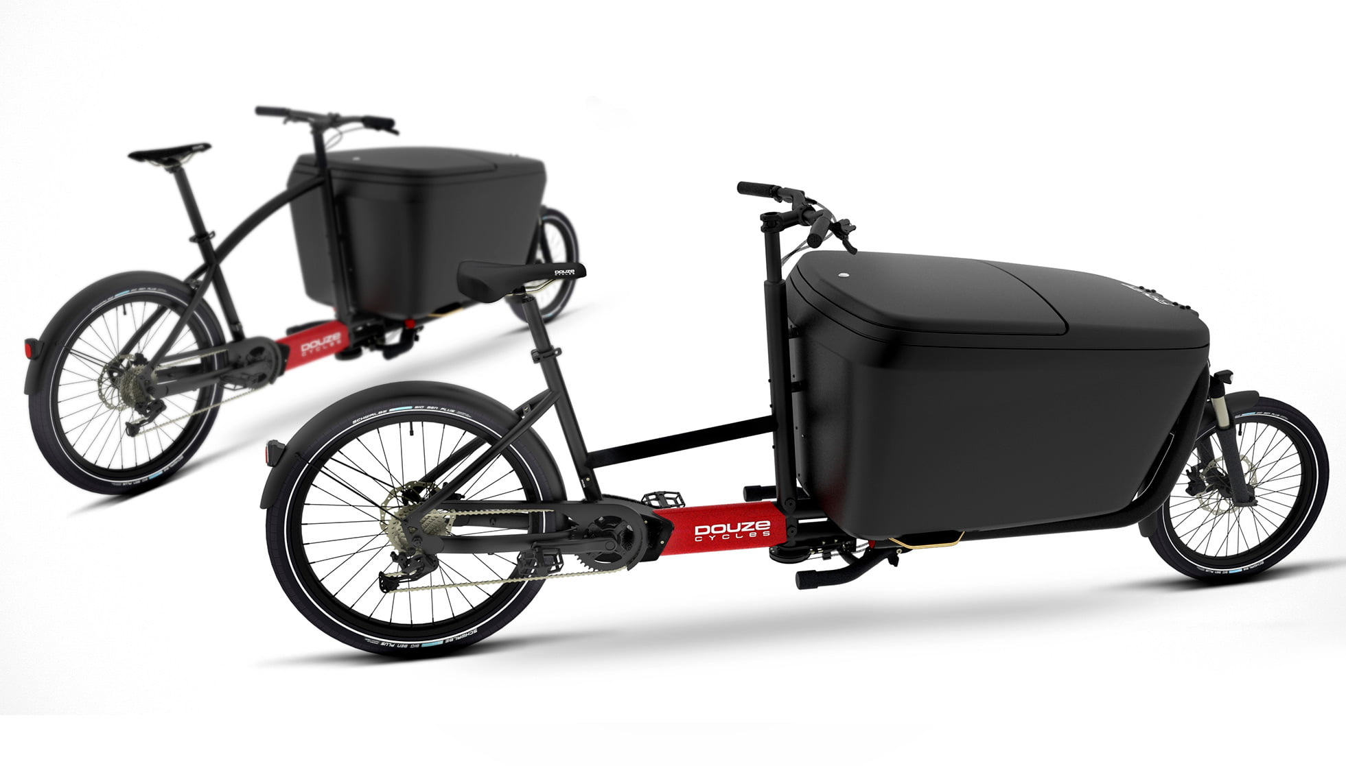 Electric cargo bikes for business delivery