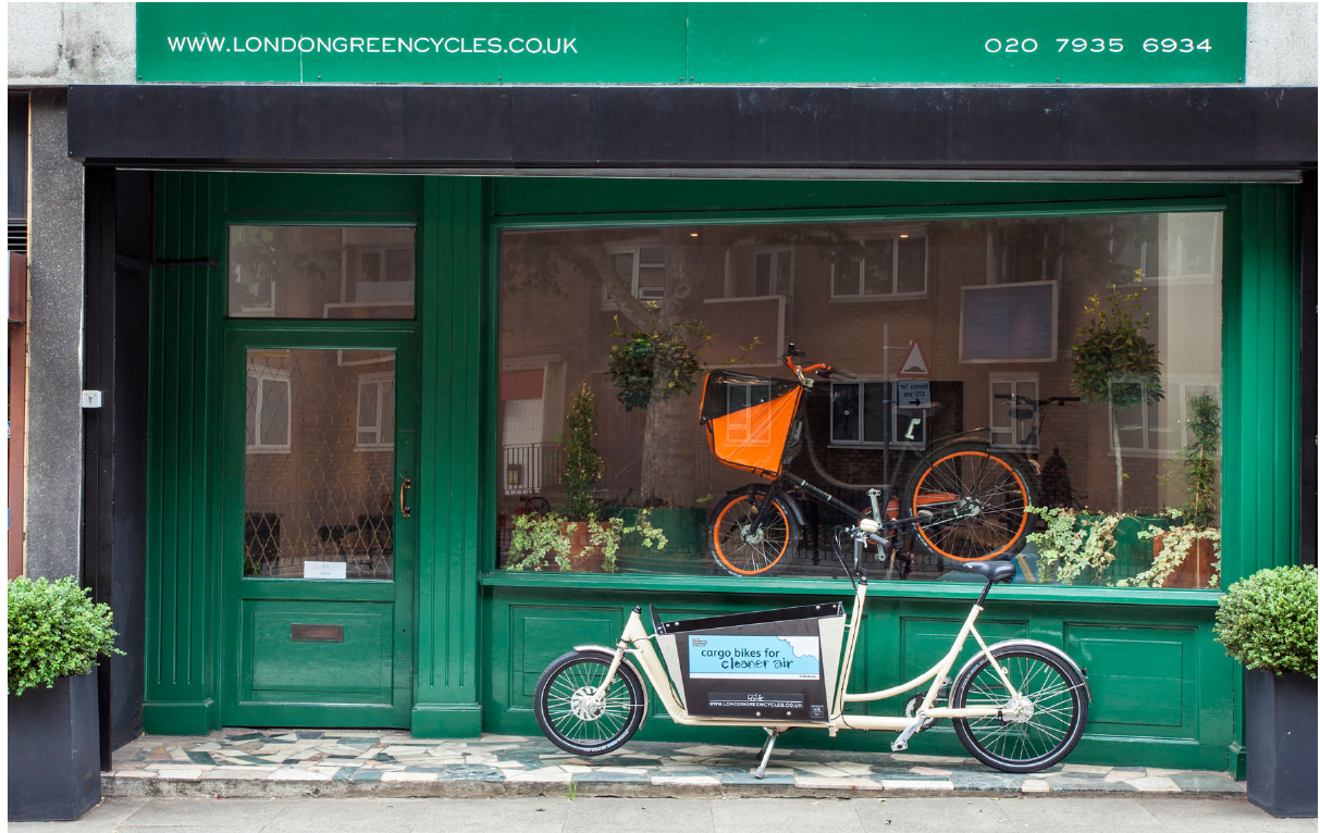 Shop Front | London Green Cycles