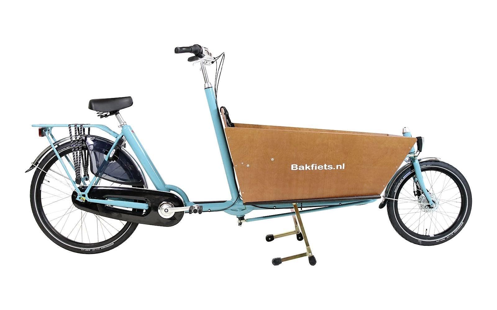 Bakfiets Classic Long London Green Cycleslondon Green Cycles
