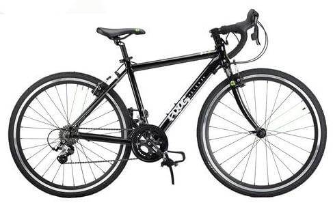 kids road bike frog 70 black