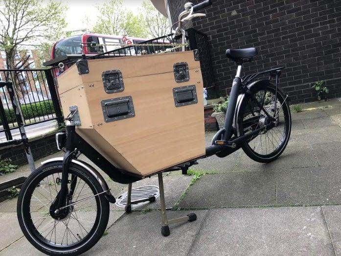 Bakfiets Homemade box   London Green Cycles