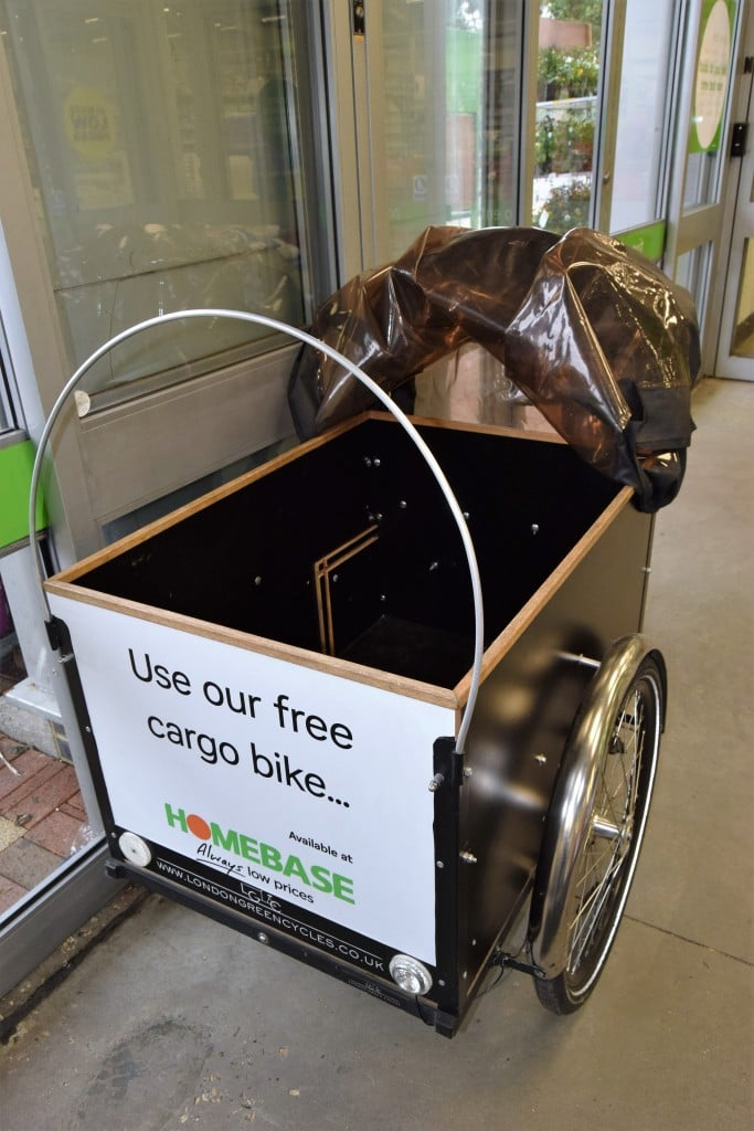 Homebase offers free cargo bike