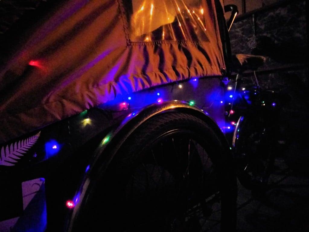 Christmas Lights |London Green Cycles