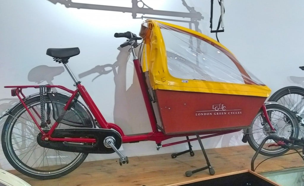Yellow & Red Bakfiets Long | London Green Cycles