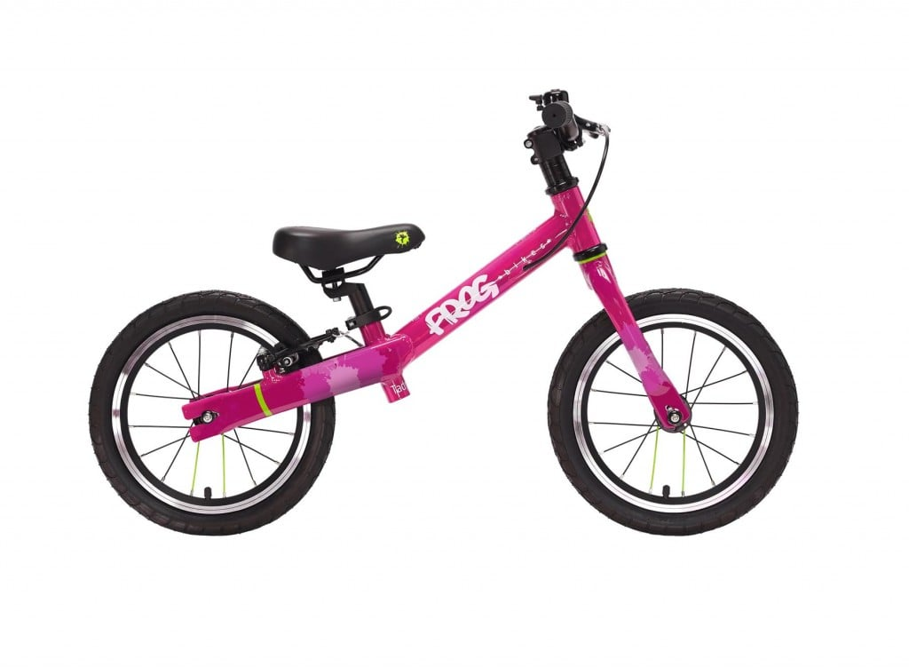 Londongreencycles frog bike tadpole plus pink