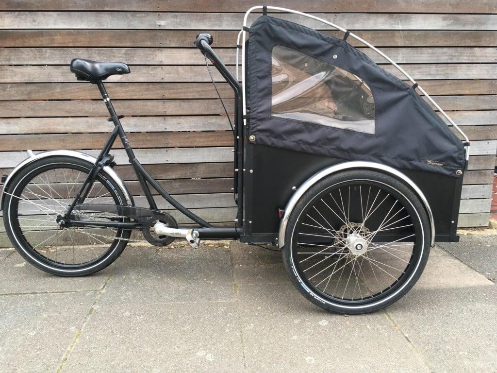 Christiania Classic Black   London Green Cycles