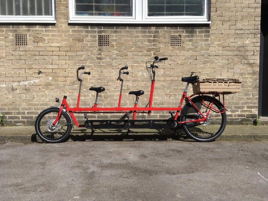 Onderwater Tandem XL   London Green Cycles