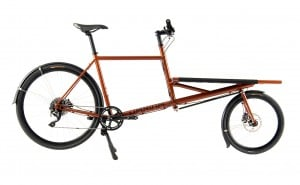 Fast delivery cargo bike from Denmark