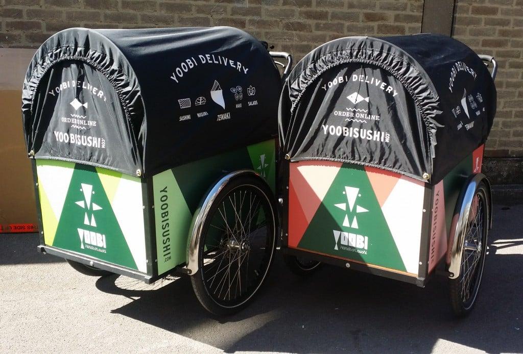 londongreencycles Christiania Straight box Custom Branding
