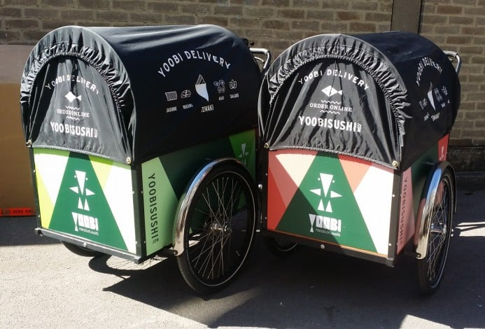 londongreencycles Christiania Straight box Custom Branding