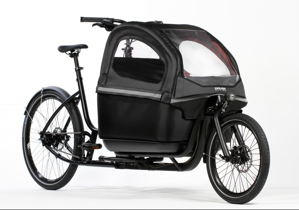 Douze Cargo bike Family V2 F for two children