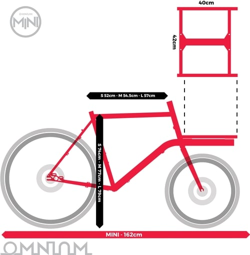 londongreencycles Omnium Mini dimensions