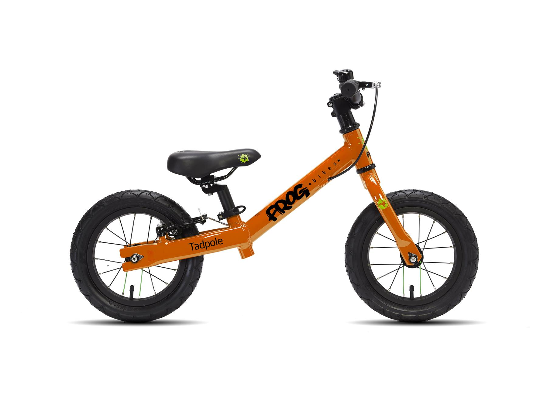 Londongreencycles frog bike tadpole orange