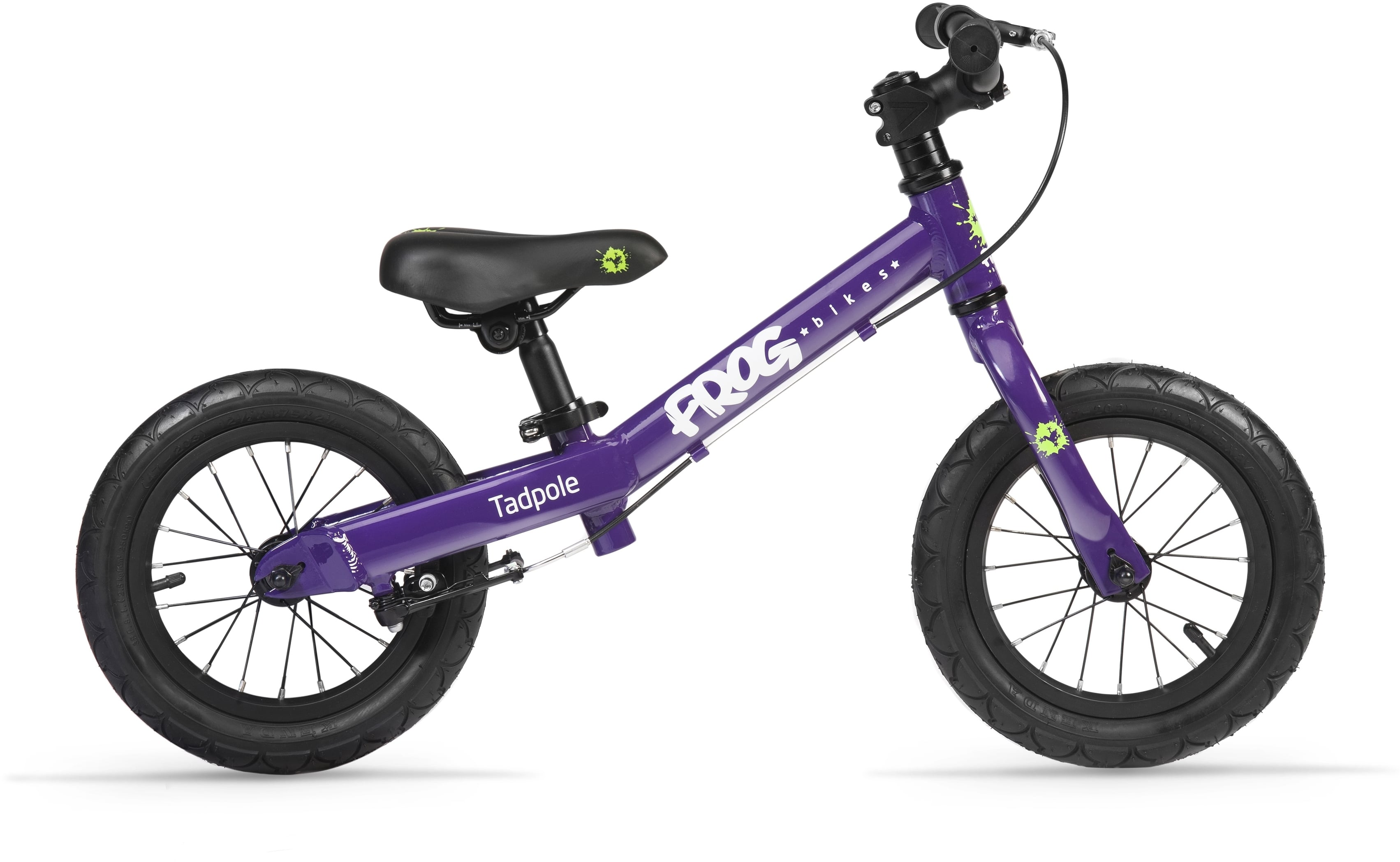 Londongreencycles frog bike tadpole purple