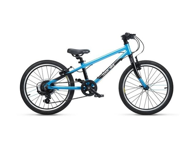 Kids bike team-sky-hybrid-52-black