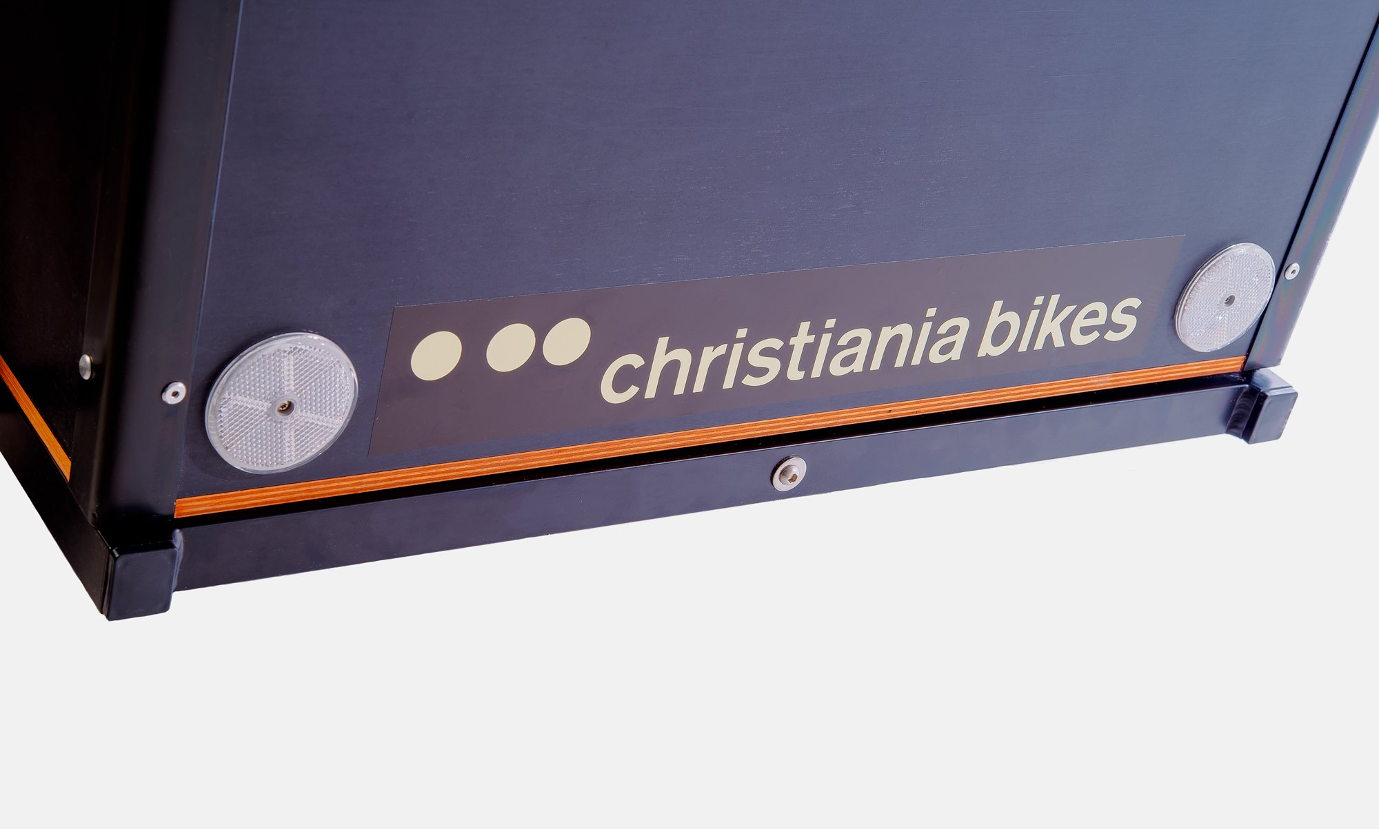 londongreencycles Christiania Classic Light black box detail