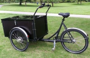 londongreencycles Christiania Cargo Long with aluminium lid