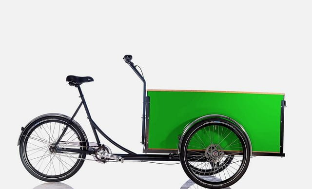 londongreencycles Christiania Cargo Long green