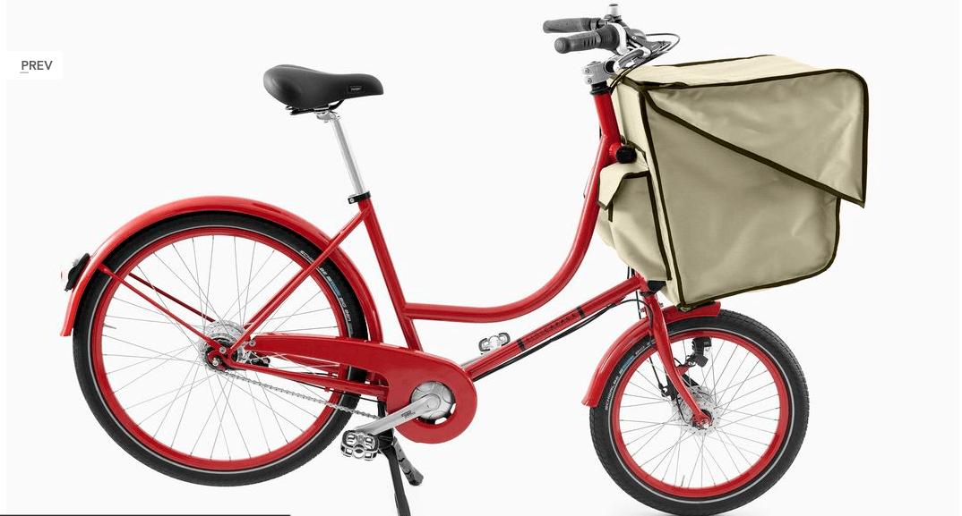 Bicicapace red cream