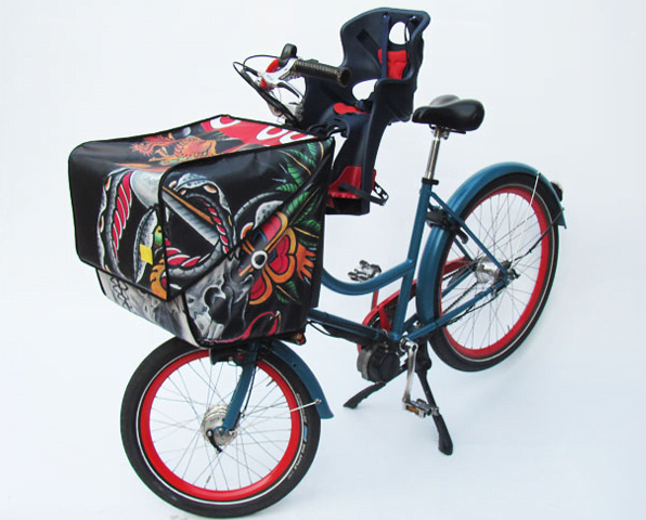 Biciccapace with child seat