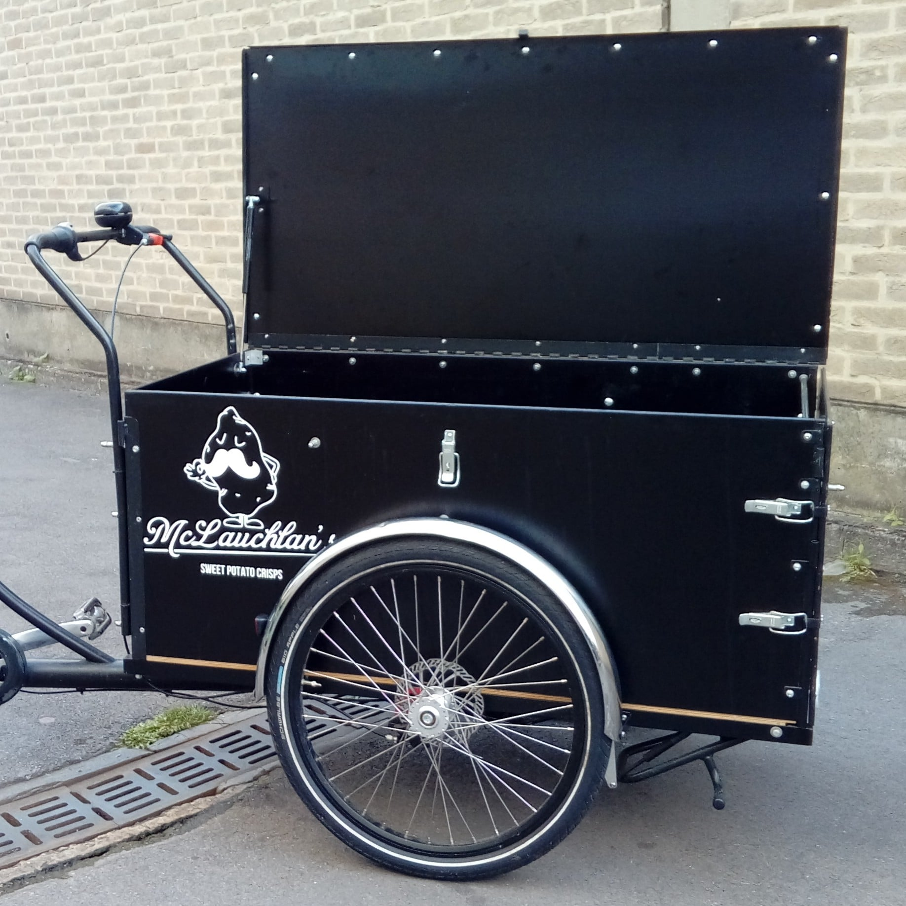 londongreencycles Christiania Cargo Long box with lid