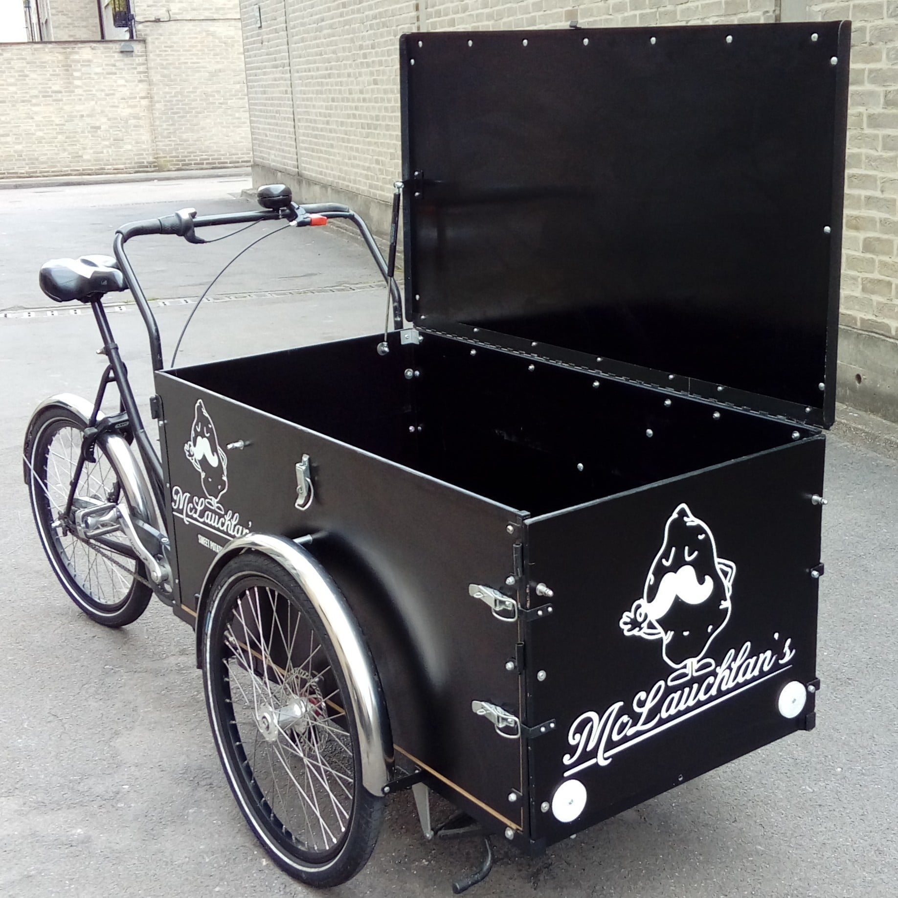 londongreencycles Christiania Cargo Long door + lid