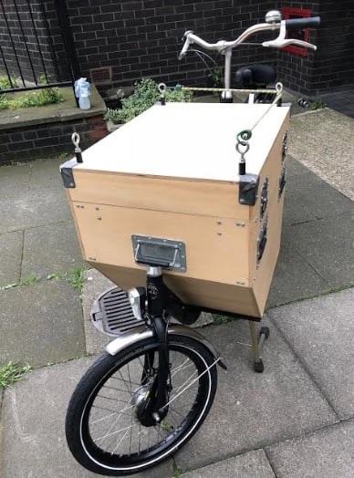 Bakfiets Homemade box | London Green Cycles