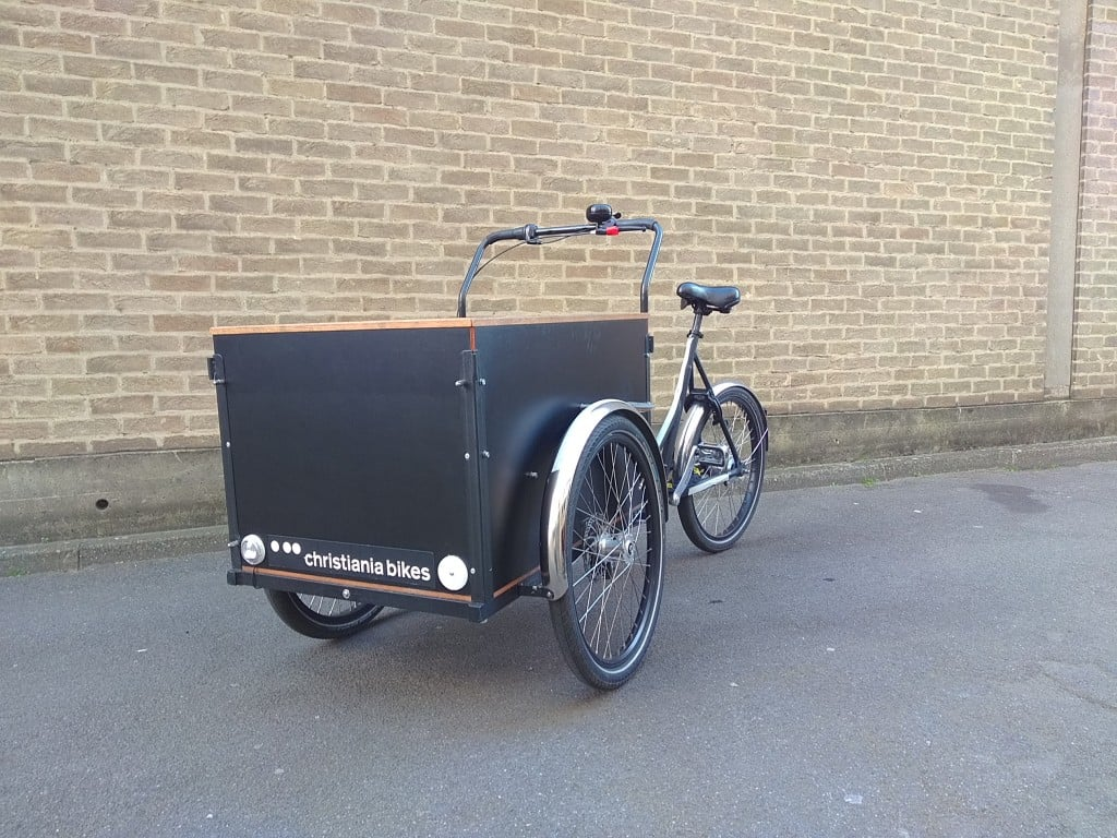 Christiania Straight Box | London Green Cycles