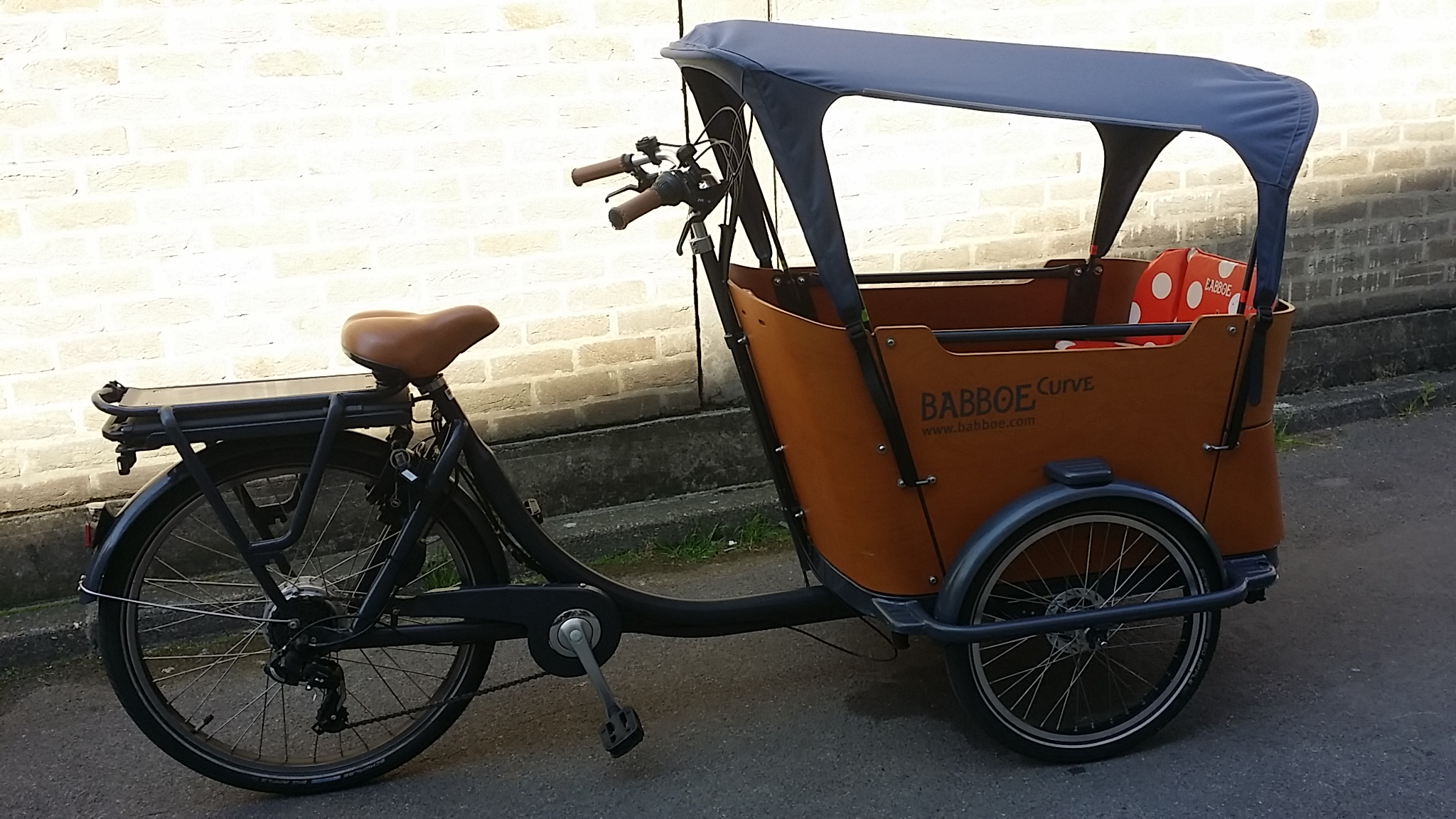 londongreencycles used Babboe Curve E