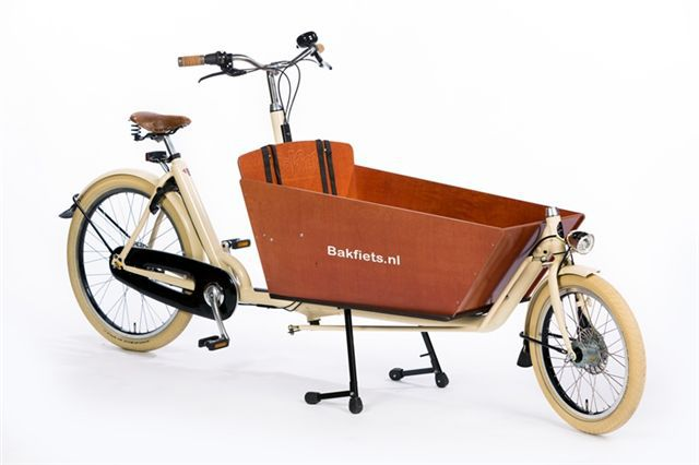 Bakfiets Cruiser Long Cream