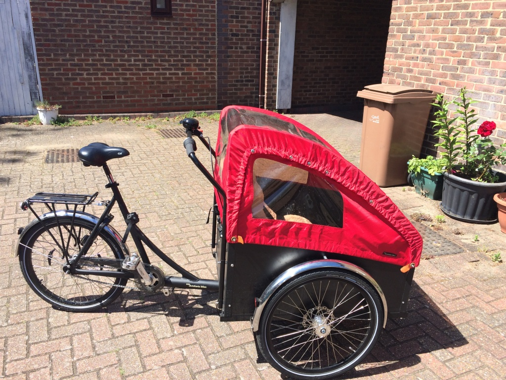 RH Christiania Classic Red | London Green Cycles