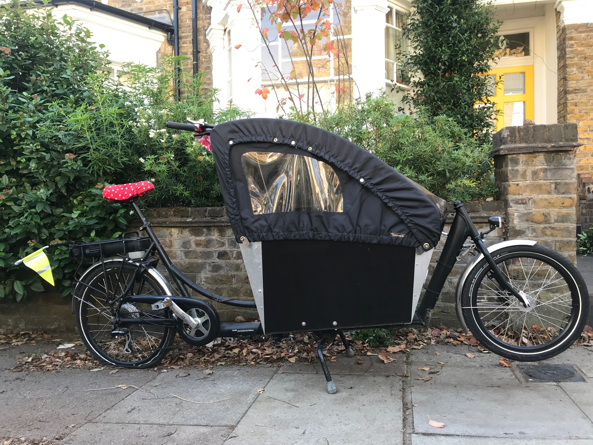 2Wheeler Christiania Electric | London Green Cycles