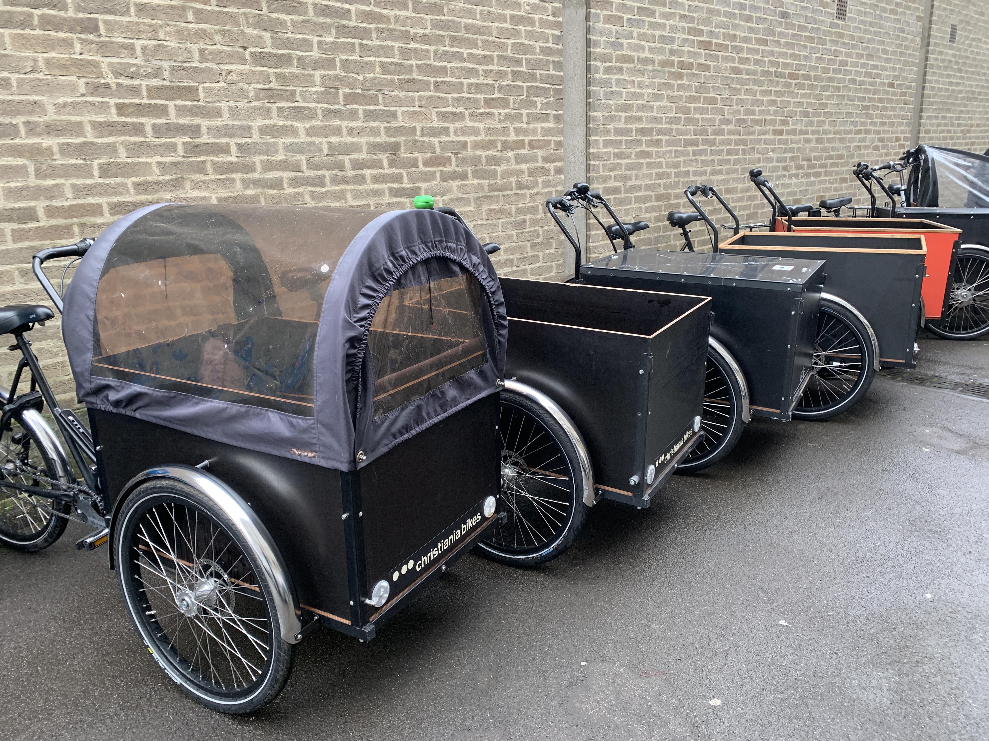 Ex-rental Christiania fleet | London Green Cycles