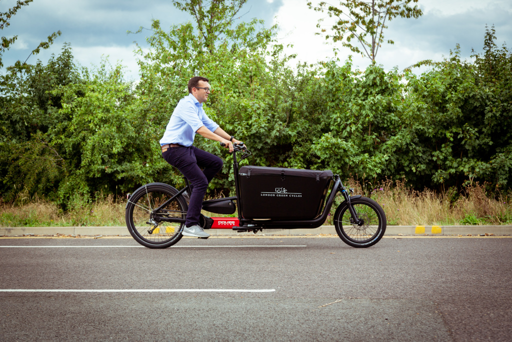 The Best Cargo Bike event at the Olympic Park, London. 10/7/2019