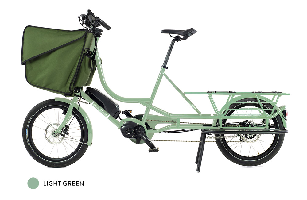 londongreencycles Bicicapace Justlong-Light-Green