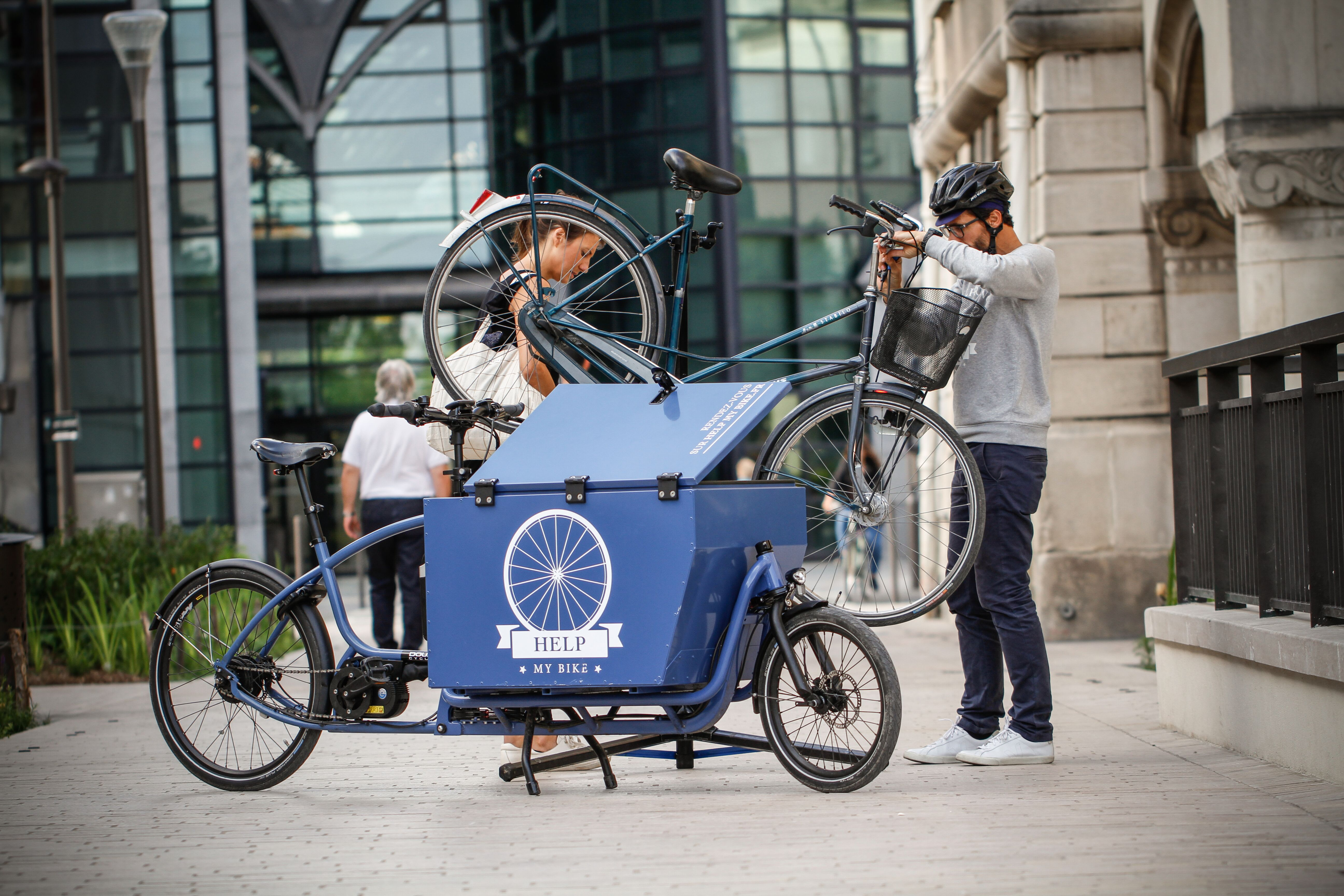 DOUZE V2 Electric (Cargo)| London Green Cycles